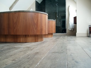 Regency Aged Oak Flooring at Calcot Manor